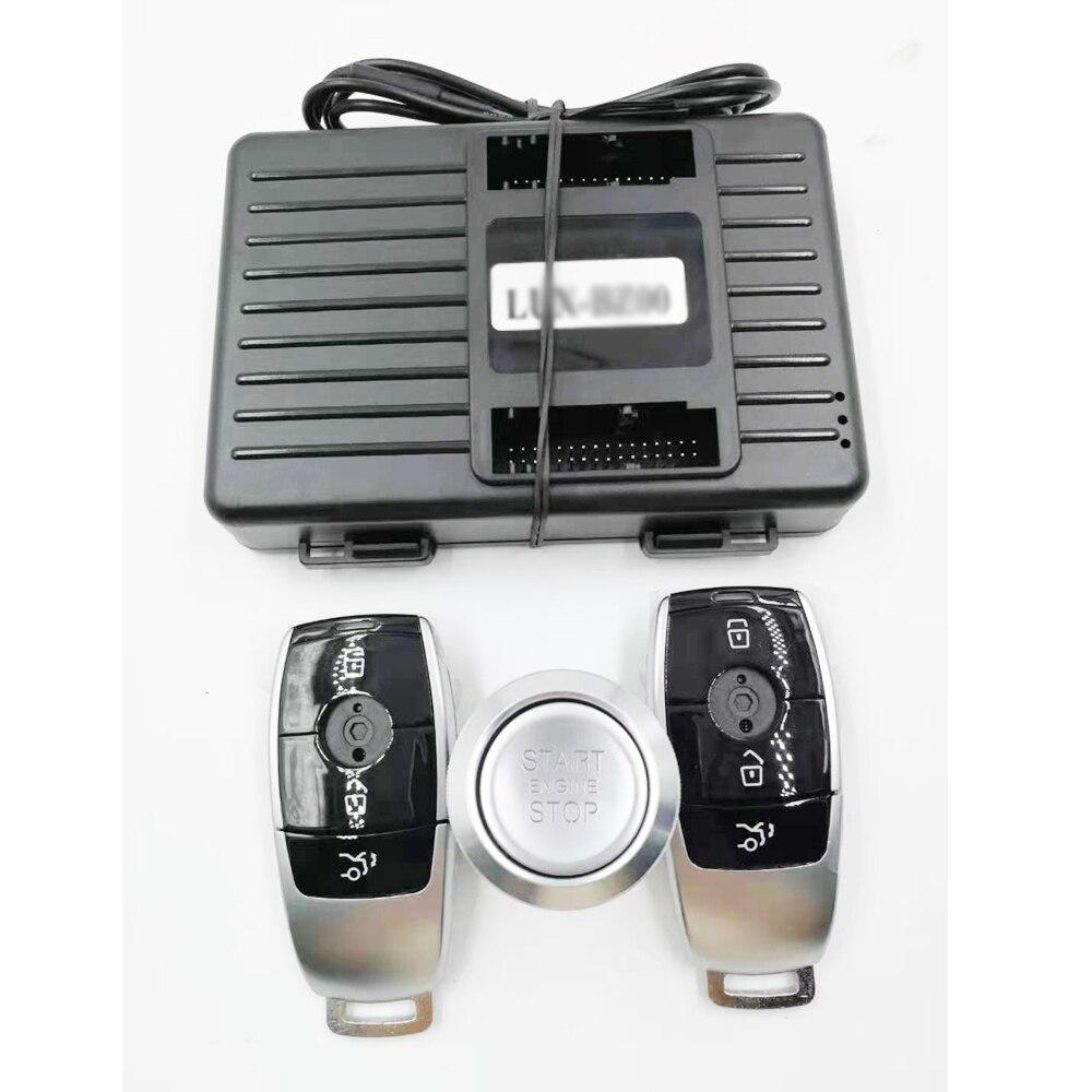لمرسيدس بنز 06-08 S W221 إضافة سيارة دفع لبدء وقف مشغل عن بُعد ونظام دخول بدون مفتاح جديد مفتاح السيارة عن بعد المنتجات