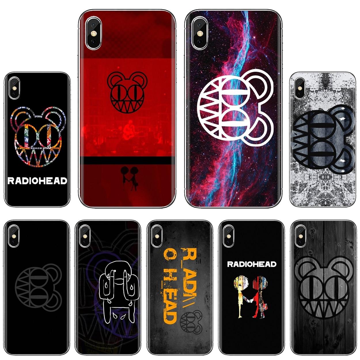 Radiohead logo British band Logo Silicone Case For Xiaomi Redmi 2 S2 3 3S 4 4A 5 5A 5 6 6A 7A 9 9T 9