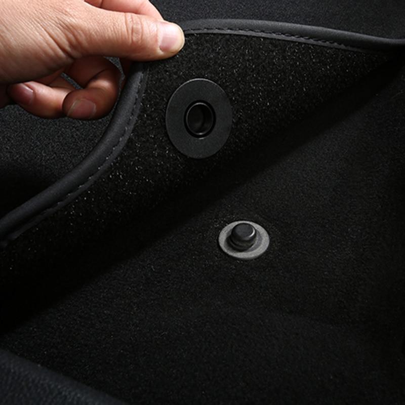 Clips de sujeción para coche, abrazadera fija para alfombra resistente al deslizamiento para Renault Megane 2 3 RS Duster Logan Clio Laguna 2 Captur