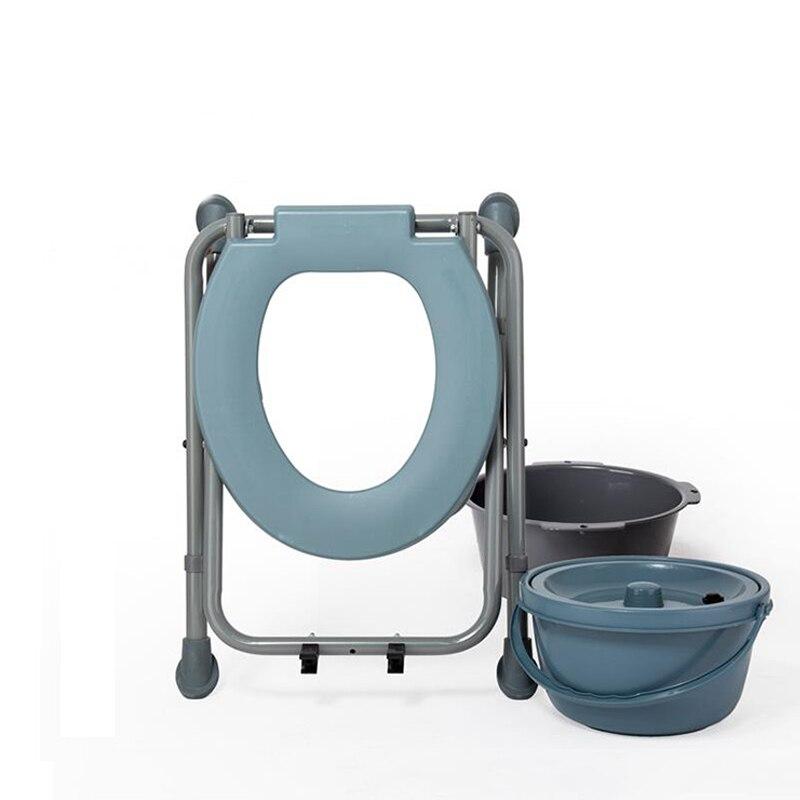 Silla Simple para sentarse en ancianos, mujeres embarazadas, silla cómoda aumentada, taburete crouch, Banco de agujeros con taburete alto ajustable