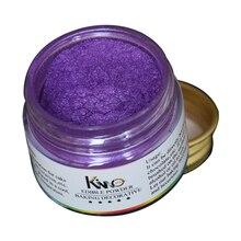 Comestible alimentaire poudre 10g violet Fondant Pigment colorant pour décorer gâteau pain chocolat Arts qualité alimentaire décoration alimentaire