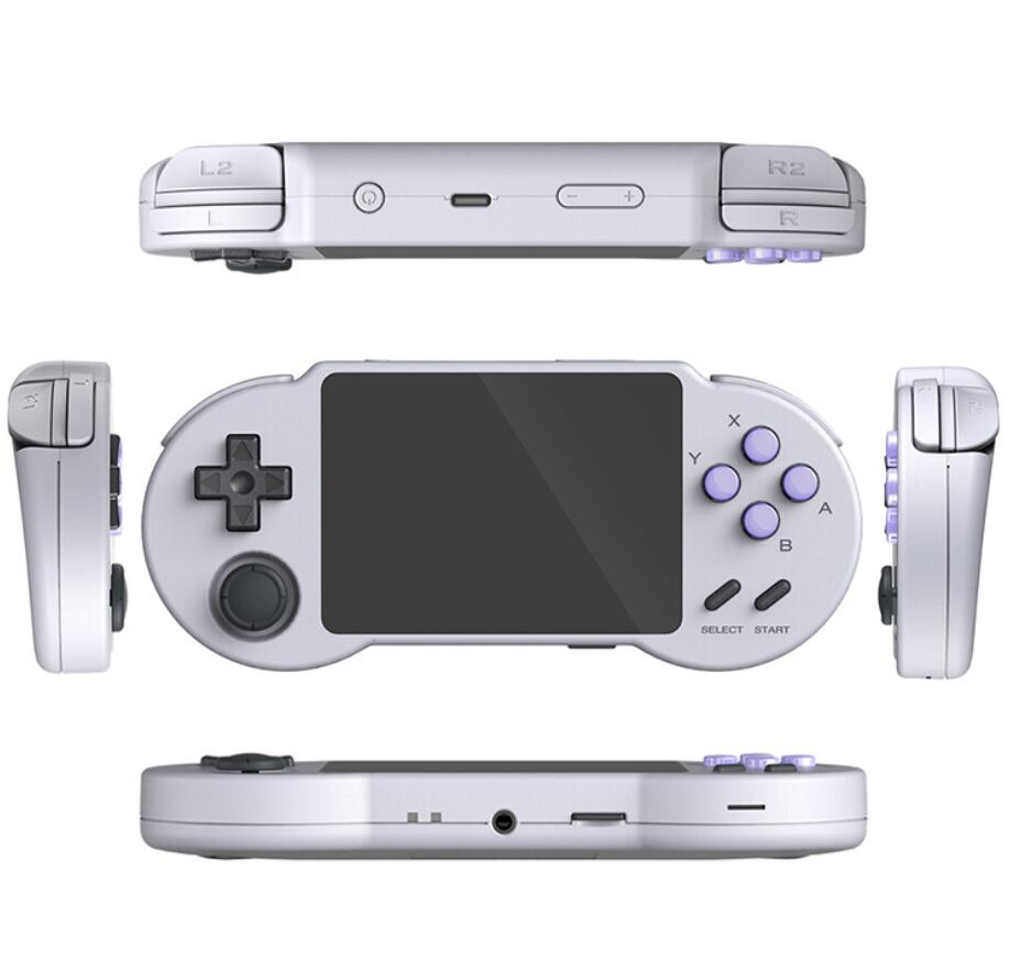 Pocketgo S30 3.5inch IPS Retro Handheld Game Console Open Source Video Game Player For PSP N64 MD 10000 Games Pocket Players enlarge