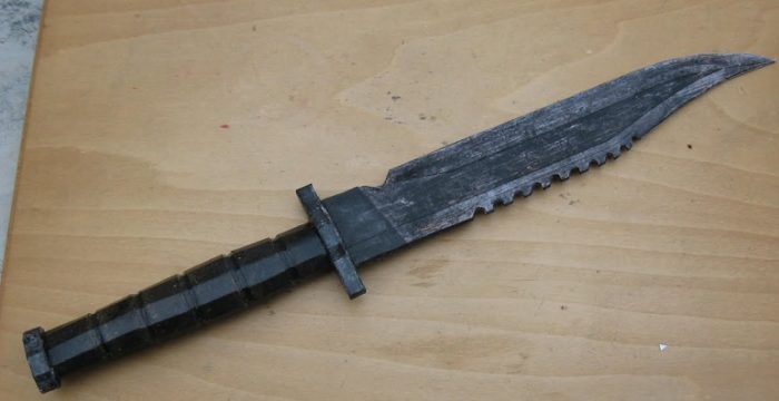 10 шт. объемный нож бумажная форма для декора подарок ручной работы размер 37 см