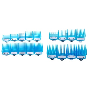 for WAHL Barber Shop Styling Guide Comb Sets Transparent Clipper Hair Limit Comb Trimmer Attachment
