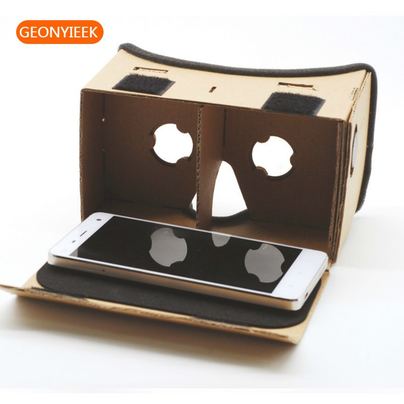 Virtual Reality Glasses Google Cardboard Glasses 3D Glasses Movies for iPhone 5 6 7 SmartPhones VR Headset For Xiaomi