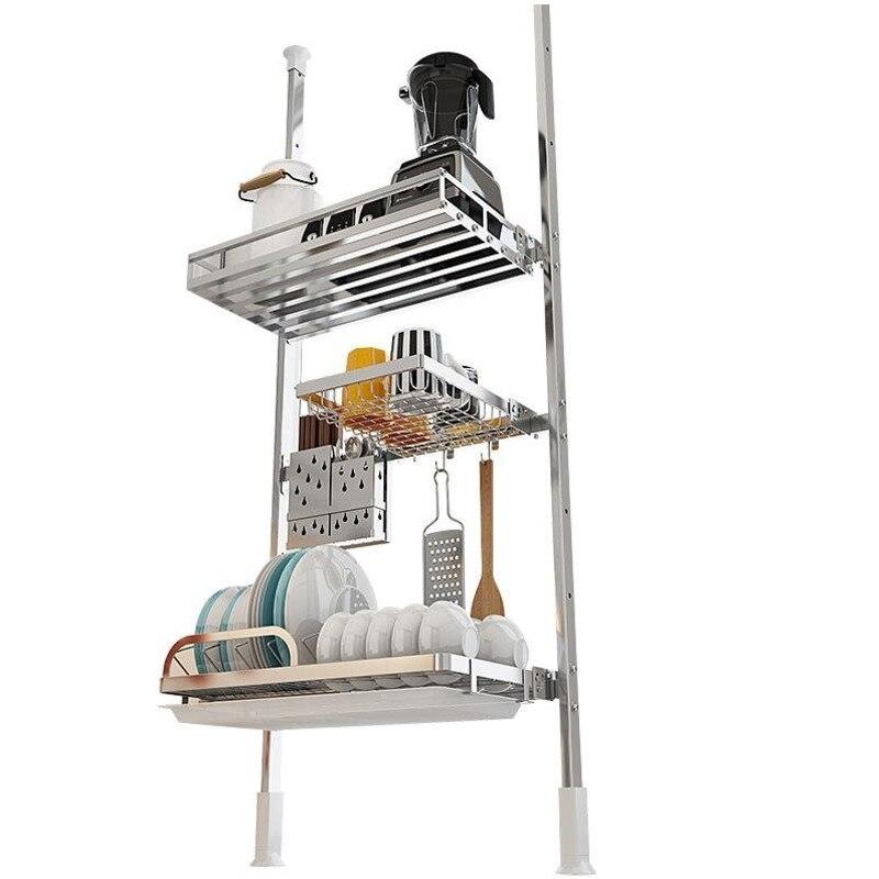 Organizadores دي Egouttoir Vaisselle طبق بالوعة Afdruiprek الفولاذ المقاوم للصدأ رف Cozinha Cocina Organizador المنظم مطبخ