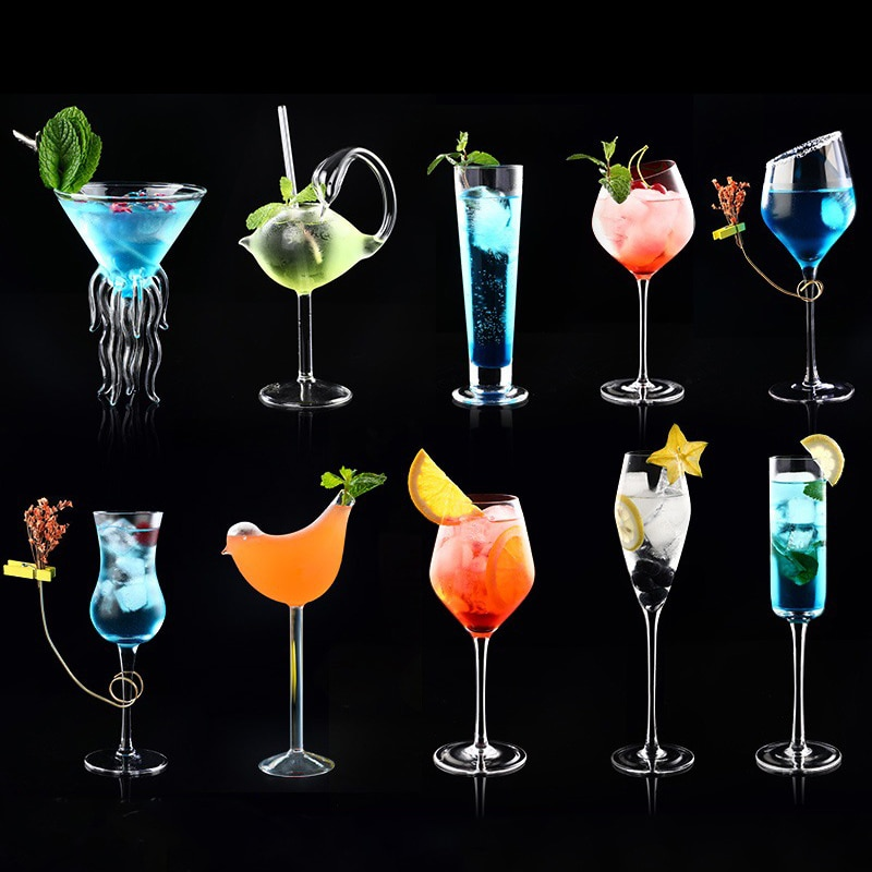 aliexpress.com - Cocktail Martini Glass Wine Glasses Beer Juice Drink Cup