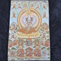 home decor 35 thangka embroidery tibetan buddhism silk embroidery brocade nepal thousand hand guanyin bodhisattva thangkas