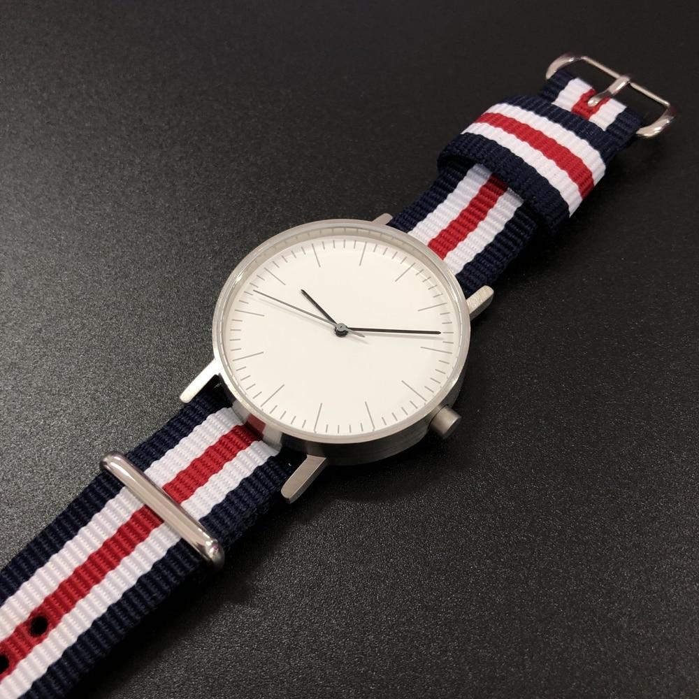 Relógios de Pulso dos Homens da Marca de Luxo Relógio de Pulso à Prova Superior Steeldive Quartz 5atm Dwaterproof Água Homem Relógio Masculino Ultrafino Men Ver