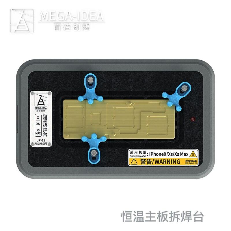 QIANLI fabrication pour IPHONE X XS XSMAX température constante démontage et plate-forme de soudage carte mère supprimer montage de colle