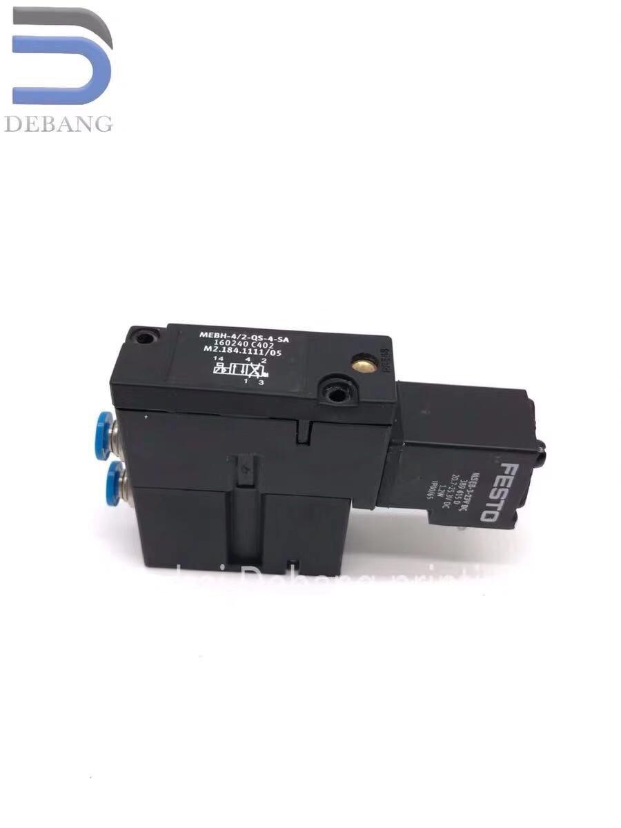Frete grátis m2.184.1111 válvula solenóide MEBH-4/2-qs-4-sa m2.184.1111/05 para peças sobresselentes da máquina de impressão sm52 sm74 sm102