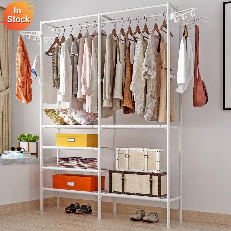 Простая портативная вешалка для одежды, простой шкаф для одежды, спальни, простыни, ящики для хранения одежды, шкаф для домашней одежды