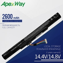 Apexway 14.8V al15a32 batterie dordinateur portable pour Acer Aspire E5-522 E5-522G E5-532 E5-532T E5-573 KT.00403.025 KT.00403.034 KT.004B3.025