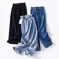 yiciya jeans woman high waist mom jeans boyfriend jeans straight denim pants loose black blue jeans femme 2021jean femmetraf