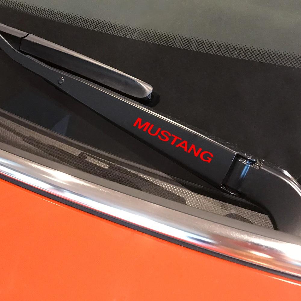 4 Uds Sport Car Captivation pegatinas para Ford Mustang ventana limpiaparabrisas vinilo PVC calcomanías Auto Decoración Adhesivos reflectantes para coche accesorios