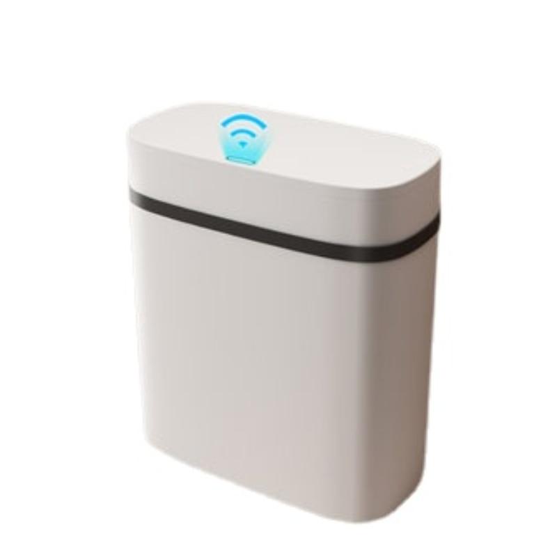 Sensor Luxury Trash Can Nordic Bathroom Automatic Smart Waterproof White Waste Bin Living Room Cubo Basura Home Products DG50WB enlarge