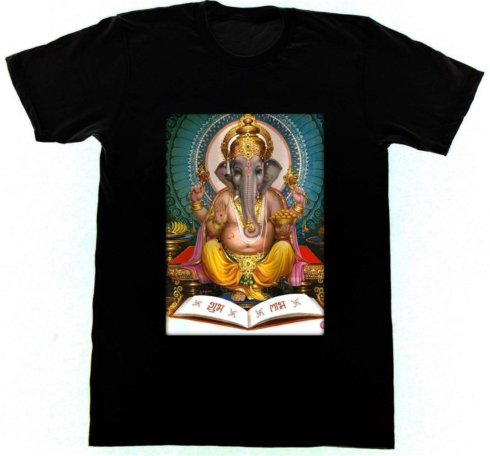 Ganesh camiseta 50 camiseta Kali Shiva Krishna yoga de hinduismo diosa meditación colorida camiseta