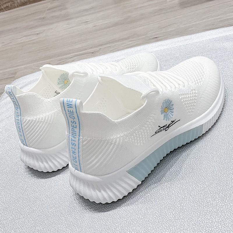 Tênis mulher verão 202 esportes nova primavera coringa branco respirável mãe filas tenis feminino designer all-match senhora sapatos