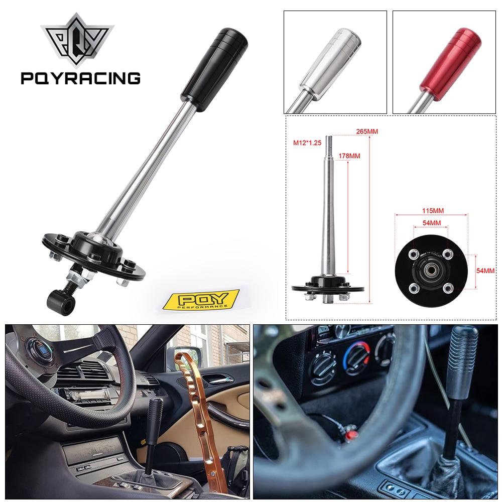 PQY - Drift тюнинг регулируемый короткий рычаг переключения передач с набор ручки для 85-10 BMW E30 E36 E46 E34 E39 E6x Z3 PQY-PDG03
