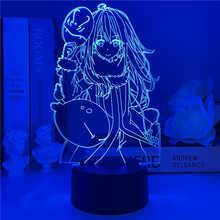 В этот раз я получил реконцентрированный как слайм 3d маленький ночник Riman охватывающий Rimuru Tempest модель детский подарок светильник льник s