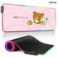 900x400 rgb pink rubber mouse pad mat for mouse gamer gaming mouse pad large computer keyboard mouse mat desk mats for deskpad