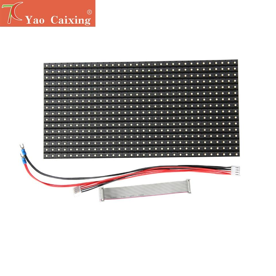 Envío Gratis P10 4S alta calidad 320x160mm al aire libre módulo a todo color para pantalla led pared de vídeo
