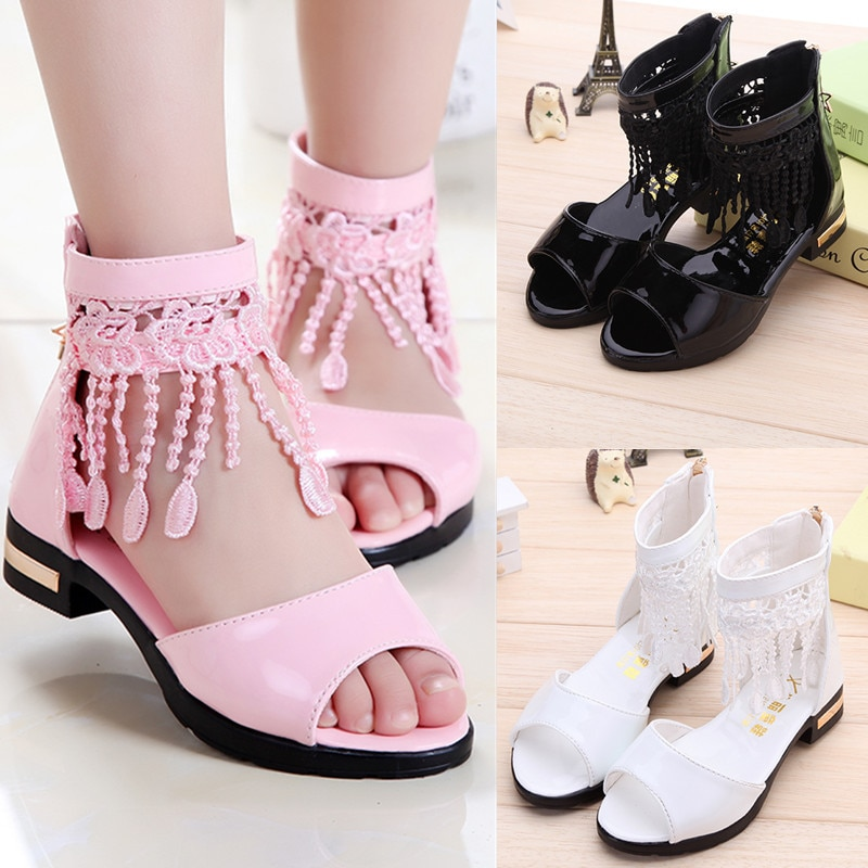 pink black red children girls shoes for kids student leather shoes school black dress shoes girls 4 5 6 7 8 9 10 11 12 13 14t Pink White Black Girls Shoes Kids Girl tassel Princess sandals dancing Party Shoes Kids Shoes 3 4 5 6 7 8 9 10 11 12 13-15Years