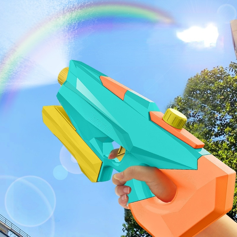 Pull-Out High-Pressure Beach Super Soaker Water Gun Toy Pink Children Summer Hydraulic Giant