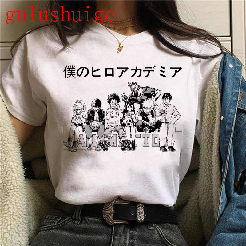 My Hero Academia Anime T Shirt Women Summer Top Tshirt Boku No Hero Academia Kawaii Himiko Toga Graphic Tees Plus Size Female T Shirts Aliexpress