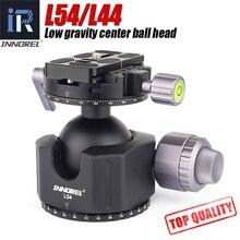 INNOREL L54/L44 tripod head for heavy duty digital SLR cameras with aluminum alloy panorama Low gravity center tripod ball head