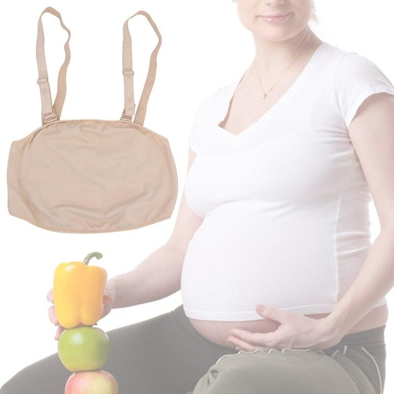 Double Shoulder Strap Fake Pregnant Belly Photo Actor Props Transgender Crossdresser False Pregnancy Belly with Suspender