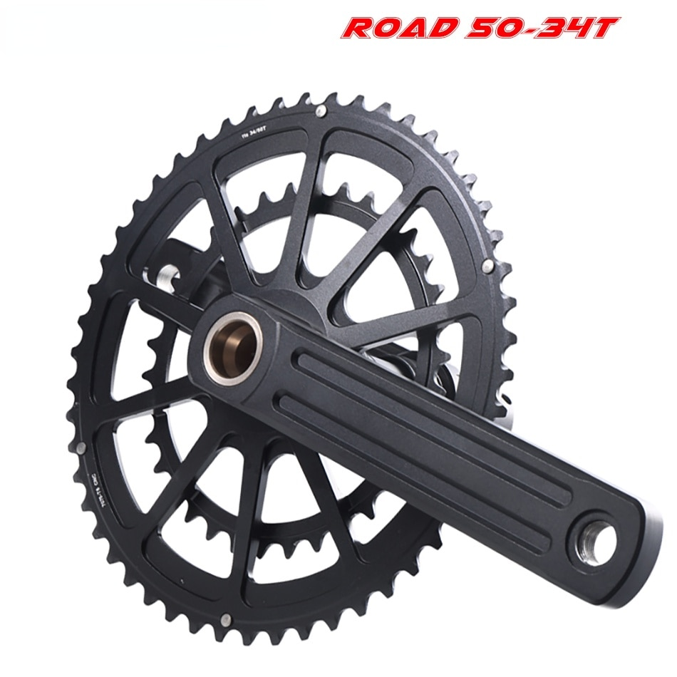 22S/20S crank sprocket 50-34T/53-39T road bicycle wheel narrow sprocket 110BCD road folding bicycle chainring