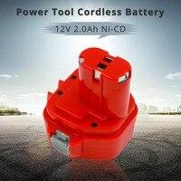 12V NI-CD 2000MAH 2.0A Replacement Bateria for Makita Power Tool Cordless Battery PA12 1220 1222 1235 1233S 1233SB 1235A 6271D