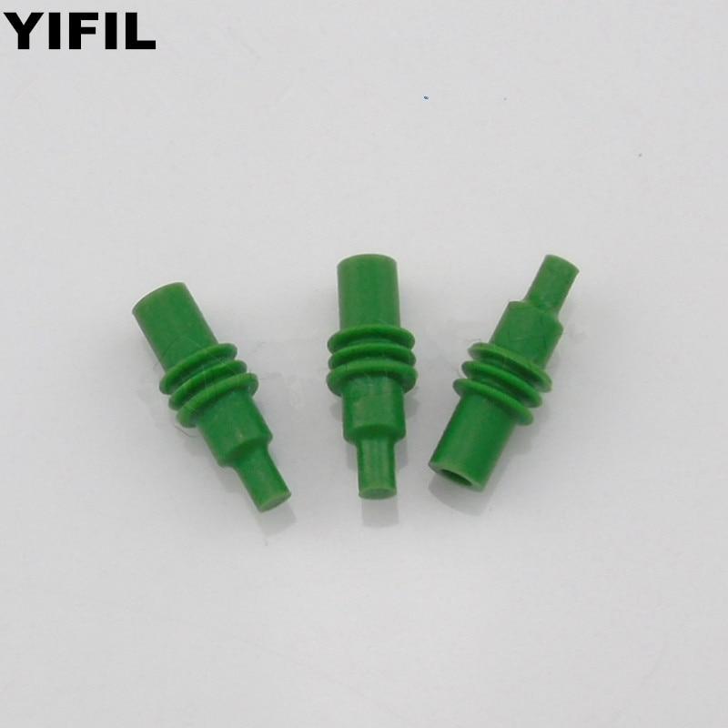 50/100/200pcs/lot Automotive Plug Blind Rubber Seal 12010300 Dummy Super Wire Seals For Auto Connector DELPHI