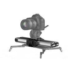 Zeapon Micro 2 Rail de caméra curseur en alliage daluminium léger Portable polyvalent Options de montage pour DSLR et appareil photo sans miroir