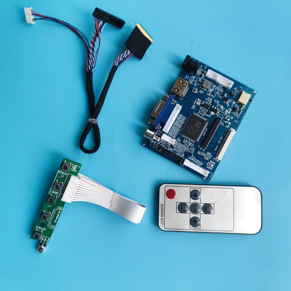 لوحة تحكم لـ B140XTN03 1366X768 LED HDMI ، جهاز تحكم عن بعد ، 2AV VGA AV ، شاشة LCD ، لوحة سائق 40pin