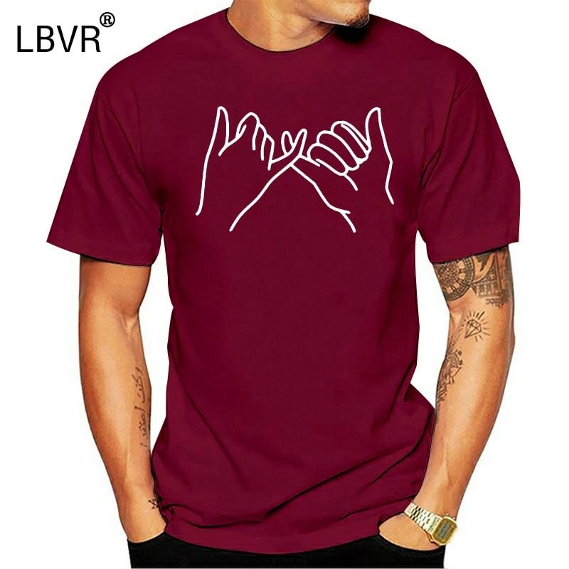 Pinky Promise T-Shirt Swear Women Men Kid Little Finger Cute Girls Top Logo L333
