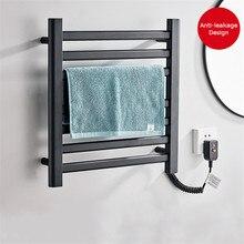 Porte-serviettes chauffant électrique, sèche-serviettes, porte-serviettes en aluminium despace stérilisant le porte-serviettes intelligent