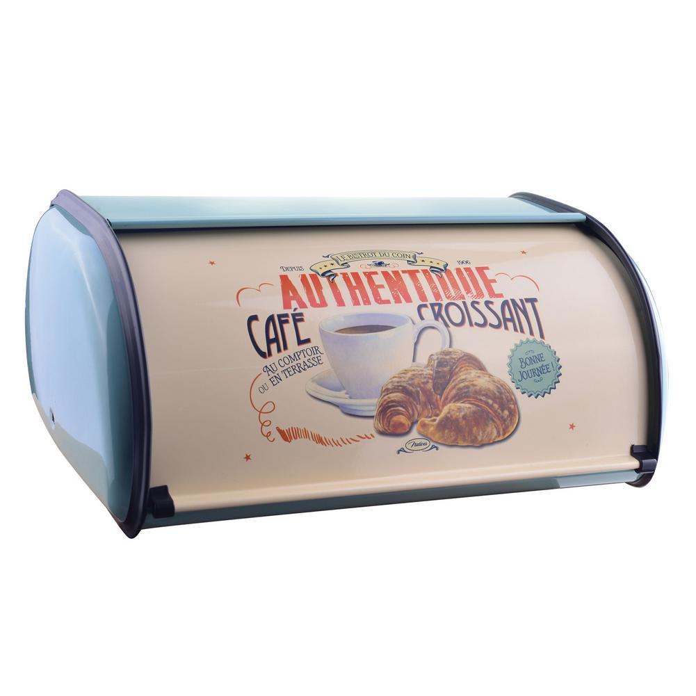 الفولاذ المقاوم للصدأ صندوق الخبز للمطبخ المعادن صندوق تخزين الخبز صندوق تخزين الخبز الرجعية العملي الحال بالنسبة لتخزين الخبز