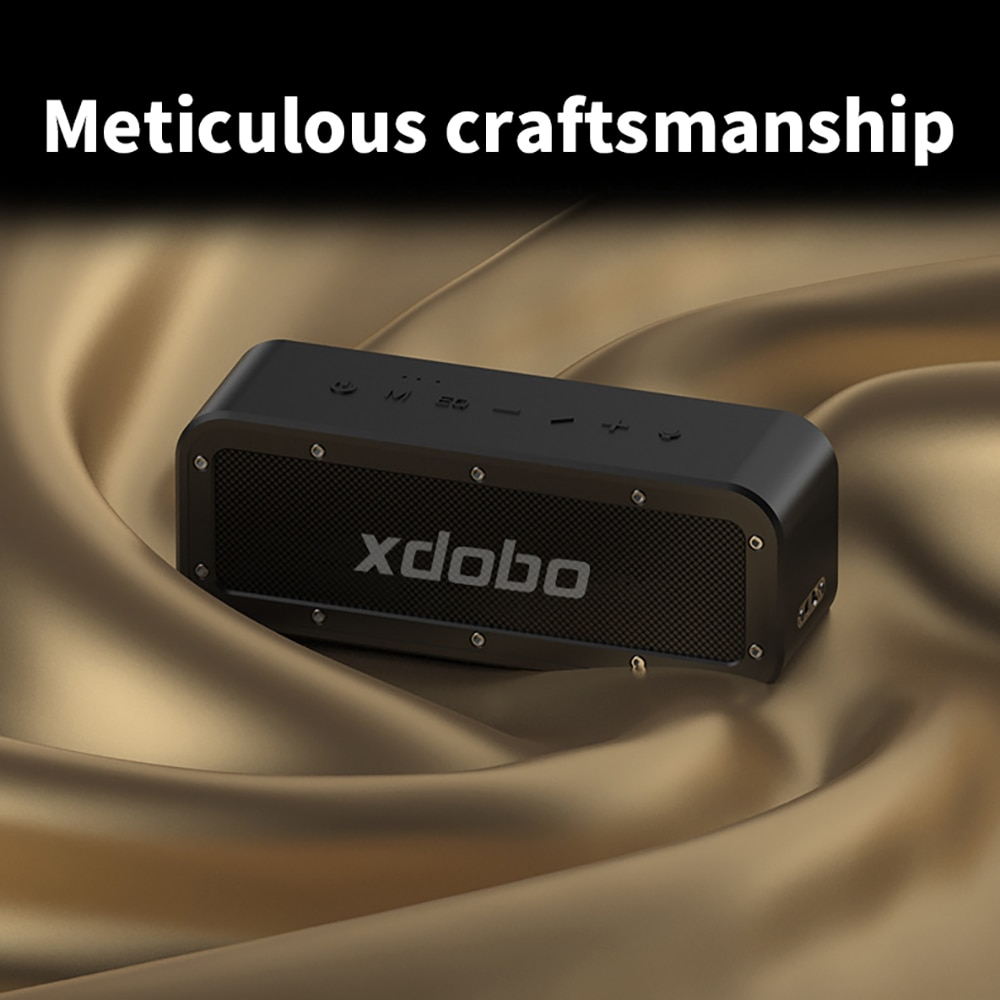 Portable Bluetooth Wireless Speaker for Better Bass 8 Hours Play Time IPX7 Waterproof Built-in Lithium Battery