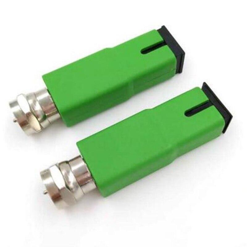 50pcs FTTH Fiber Optical Node CATV converter SC APC YT-1200-W converter ftth Passive Node fibre optique RF Converter