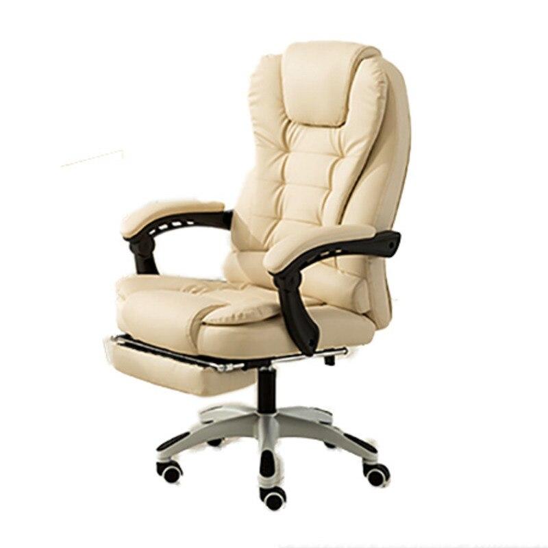 Высококачественный Hom 2 Silla Gamer Live Poltrona Boss стул с подставкой для ног колесо может