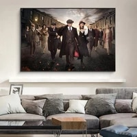 moive posters of peaky blinders canvas art paintings on the wall art pictures peaky blinders canvas prints home decor cuadros