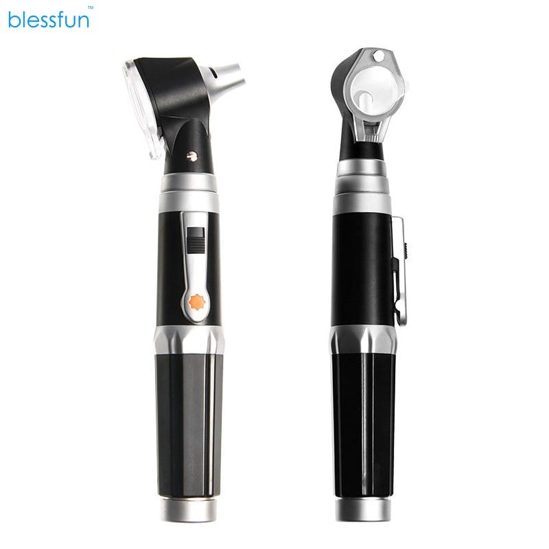 Otoscopio-Kit de diagnóstico Profesional para el cuidado del oído, Otoscopio portátil con LED, para uso médico en el hogar y enfermería, novedad