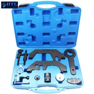 Image 1 - Инструменты для фиксации распределительного вала двигателя для BMW 730i 745i 545i 645i 750i N62TU N62 N73 двигатели для автомобиля инструмент ГРМ 12 шт.