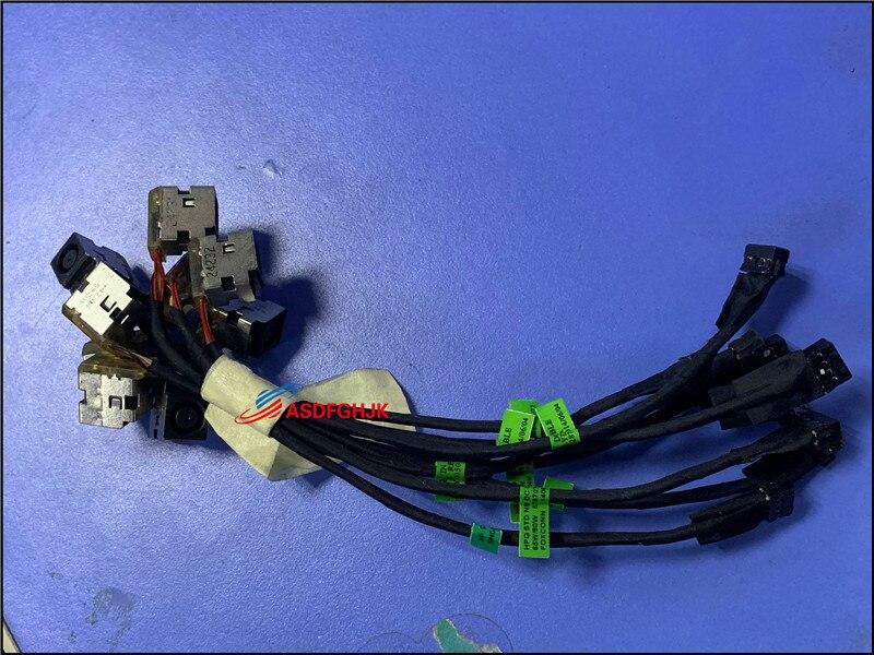 Original para hp probook 430 g2 dc power jack cabo 676707-fd1 676707-sd1 768197-001 100% tesed ok