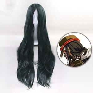 100cm  Danganronpa V3:  Harmony Cosplay Wig Long Wavy Heat Resistant Synthetic Costume Party Wigs Danganronpa Cosplay