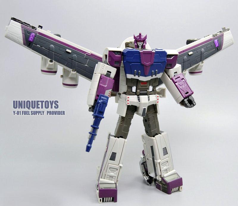 Unique Toys UT Y-01 Y01 Transformation Octane Triple Changers G1 Fuel Supply Provider Action Figure Robot Toys