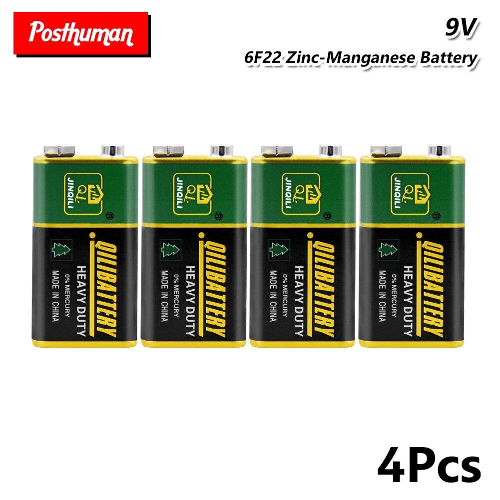 2019 nuevo 6F22 PPP3 6LR61 Bateria 6F22 PPP3 6LR61 batería de litio 9V baterías secas súper no resistentes para Radio alarma de juguete