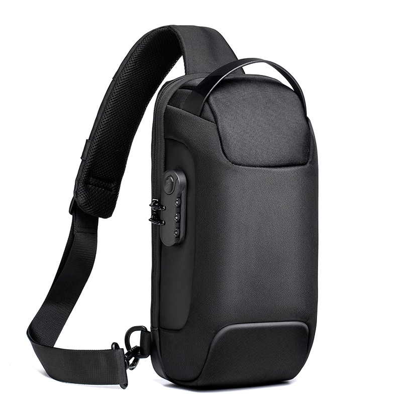 Men's Waterproof Multifunction Oxford Crossbody Bag Anti-theft Sling Shoulder Bags Short Trip Messenger Chest Bag Pack For Male new multifunction crossbody bag for men anti theft shoulder messenger bags male waterproof short trip chest bag male bag